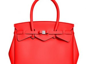 SAVE MY BAG MISS LYCRA 3/4 RED COAT