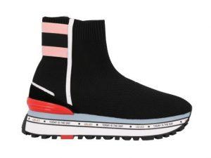 Liu Jo Maxi Alexa Elastic Sock bxx053 tx022 Black