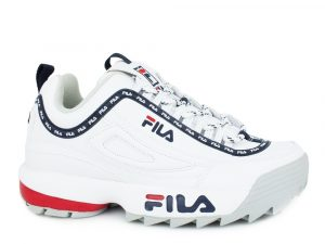 Fila Disruptor Logo Low 1010748.1FG White
