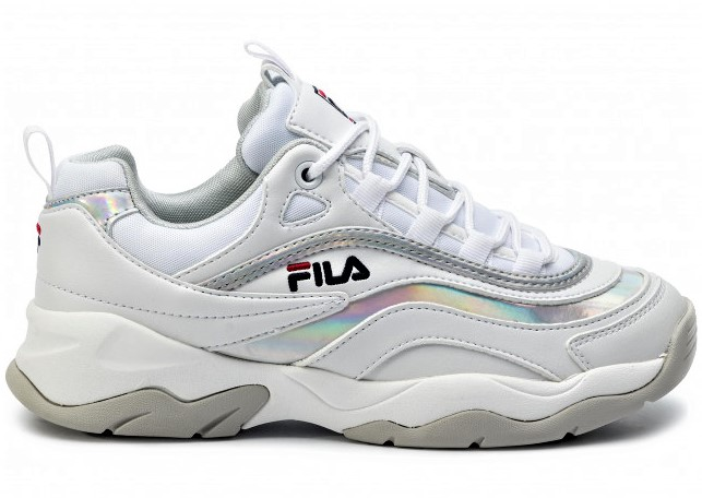 Fila Ray M Low 1010763.00K White Silver