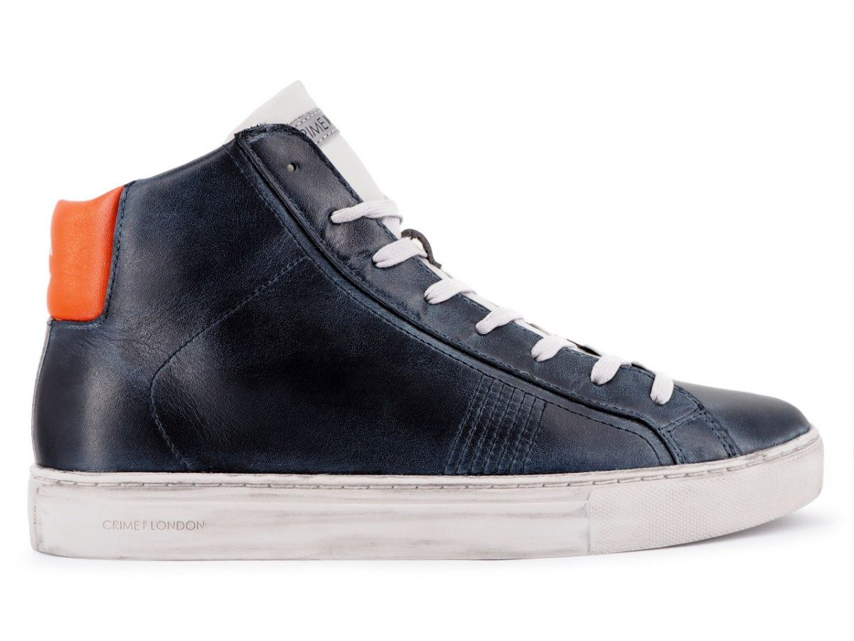 Crime London Infinity 11570aa2.40 Navy
