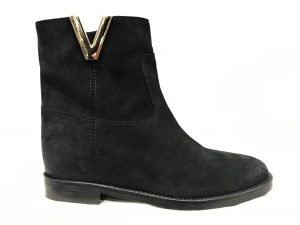 G SHOES T23 Camoscio Nero