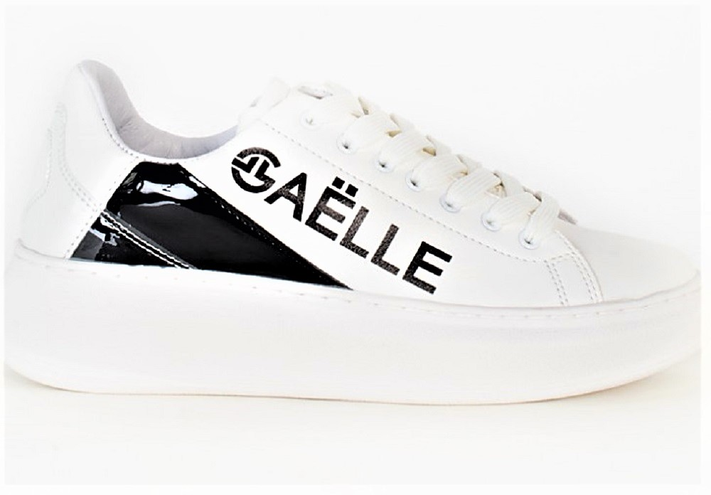 GAELLE GBDA1712 BIANCO NERO – WHITE BLACK
