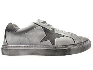 cn shoes pelle bianco stella ghiaccio