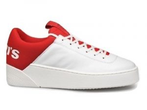 LEVI'S MULLET S WHITE-RED