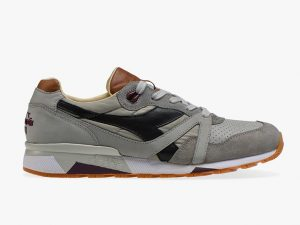 DIADORA HERITAGE 201.172782 75047 GREY MADE IN ITALY