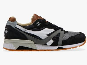 DIADORA HERITAGE 201.172782 C3485 BLACK MADE IN ITALY