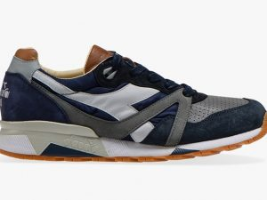 DIADORA HERITAGE 201.172782 C7665 BLUE MADE IN ITALY