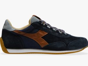 DIADORA HERITAGE 201.175141 60065 BLUE MADE IN ITALY