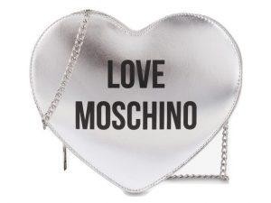 LOVE MOSCHINO JC4221PP0AKD0-902 BORSA CUORE ARGENTO