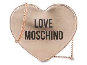 LOVE MOSCHINO JC4221PP0AKD0-905 BORSA CUORE RAME