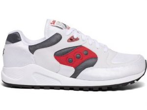 SAUCONY S70487-4 JAZZ 4000 WHITE GREY RED