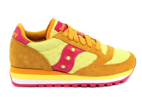 SAUCONY s60497-6 jazz triple yellow pink