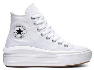 Converse 568498c Chuck Taylor All Star Move White Natural