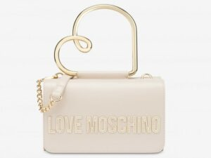 love moschino jc4122pp1cln1110 borsa a mano heart handle