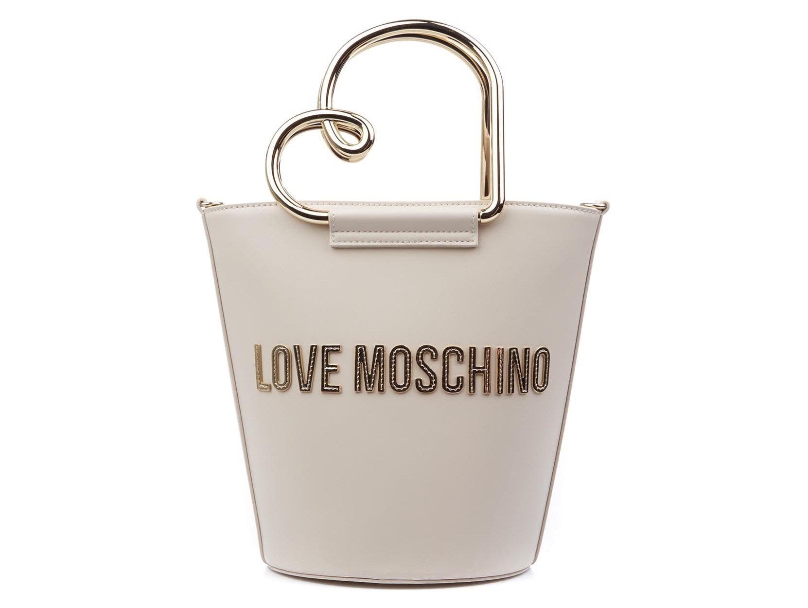 love moschino jc4123pp1cln1110 borsa a secchiello heart handle
