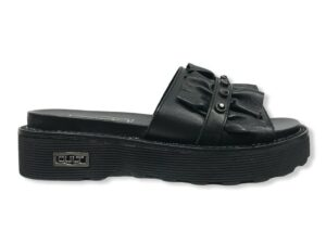 cult clw328400 ziggy 3284 sandal nero