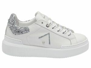 ed parrish ckld sq61 sarah white glitter silver