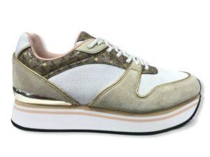 emporio armani sneakers x3x046 xm697 r918 white gold ecru