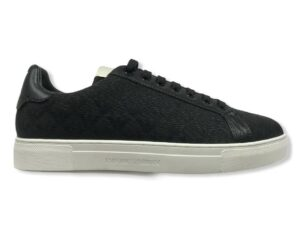 emporio armani sneakers x4x316 xm741 k001 black logo