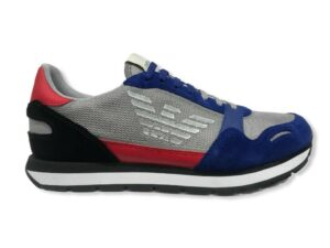 emporio armani sneakers x4x537 xm678 n641 bluet grey red black