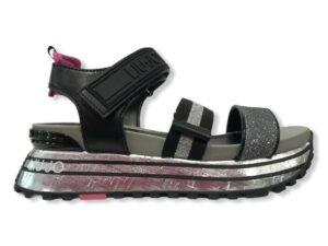 liu jo maxi wonder sandal 7 ba1073 tx116 00532 silver