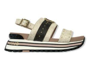liu jo maxi wonder sandal 8 ba1075 ex057 s1022 white milk
