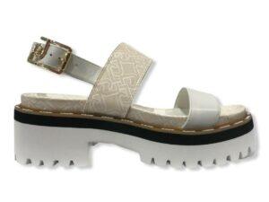 liu jo pink summer 1 sandal sa1049 px141 s1022 white milk