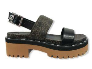 liu jo pink summer 1 sandal sa1049 px141 s1033 black brown