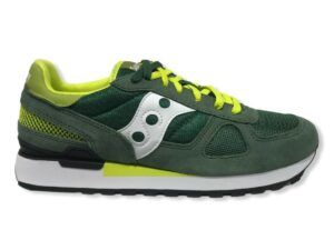 saucony shadow s2108-776 green white yellow