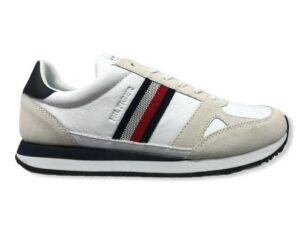 tommy hilfiger fm0fm03430 sneakers bianco running