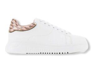 emporio armani sneakers x3x024 xm702 r922 white gold ecru