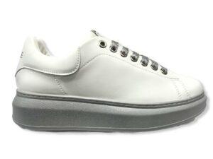 gaelle gbds 2290 sneakers glitter silver