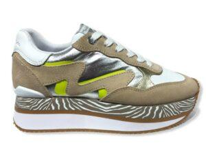 manila grace sneaker s1ds681lmma099 running eva con mix di materiali