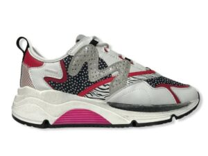 manila grace sneaker s1ds672luma077 running nero fuxia