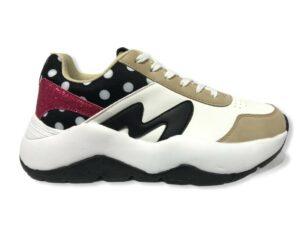 manila grace sneaker s1ds686ewma001 running nero nude