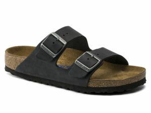 birkenstock arizona 752483 sfb black oiled leather