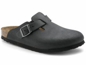 birkenstock boston 0059463 black oiled leather