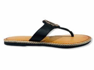 tommy hilfiger fw0fw05620 black flat sandal