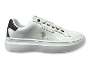 us polo jewel 029 white animalier