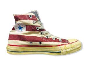 converse all star 1v829 hi star & stripe vintage chuck taylor