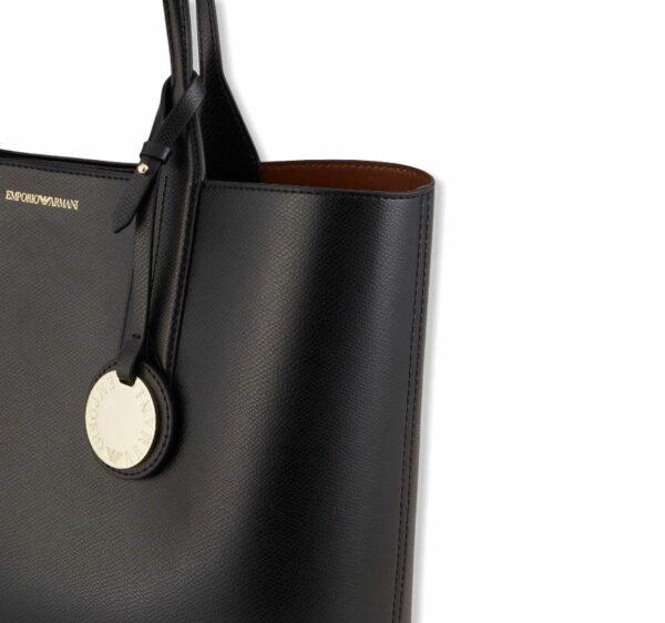 emporio armani y3d081 yh15a 85184 shopping bag nero