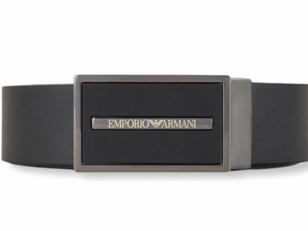 emporio armani y4s284 ysp6j 80001 plate belt cintura
