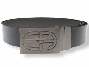 emporio armani y4s457 y037j 81972 plate belt cintura