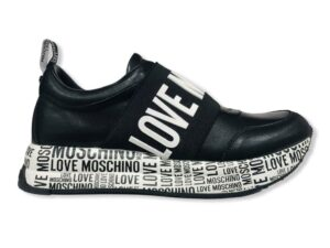 love moschino ja15244 g1die0000 sneakers vit nero