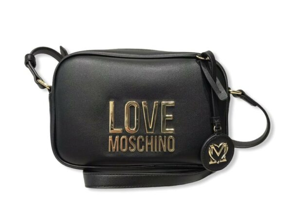 love moschino jc4107pp1dlj000a borsa bonded nero
