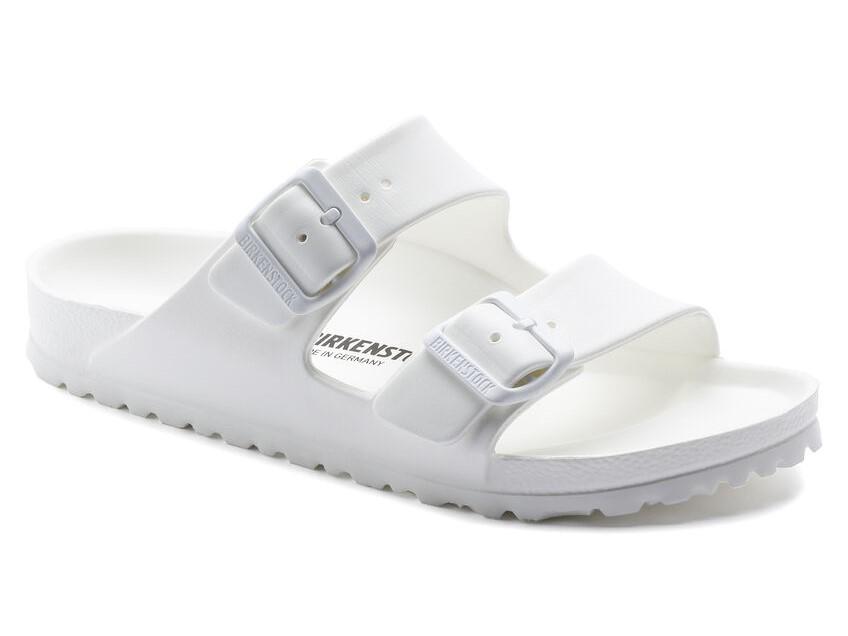birkenstock arizona 129443 eva white