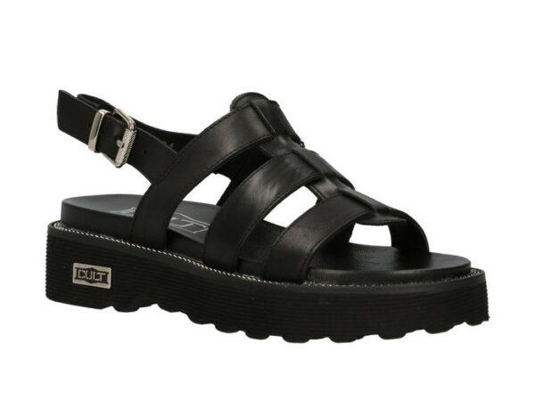 cult cle 104334 ziggy 3137 sandal nero