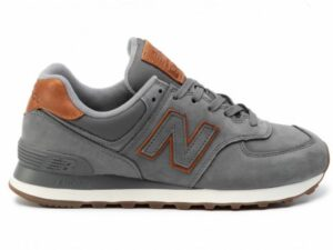 new balance ml 574 nba grey nabuck