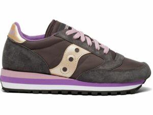 saucony jazz triple w s60530-11 grey purple d107